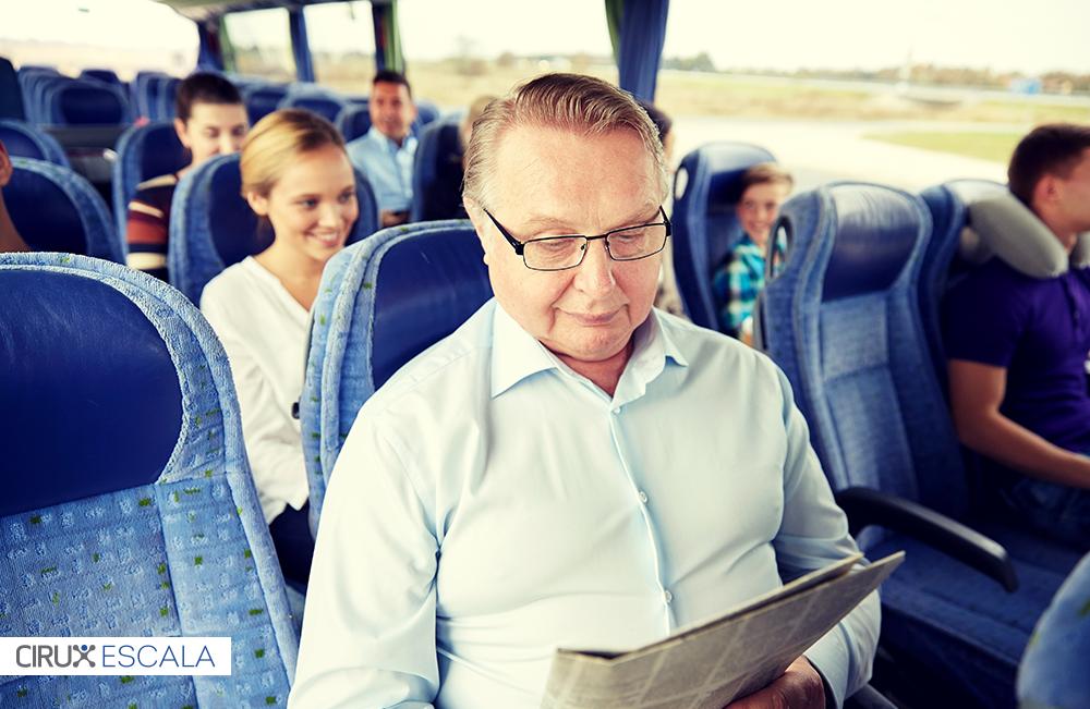 viajar de ônibus